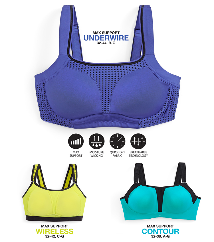 Soma Sport: Sport bras with technology built in
