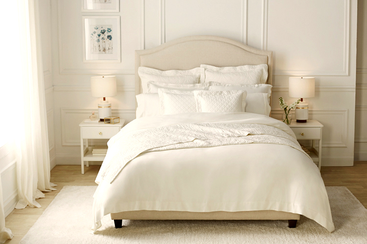 Beautiful, comfortable bedding helps everyone get beauty sleep.