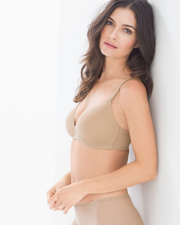 Convertible straps can solve bra problems of bra straps showing.