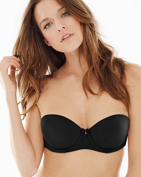 Strapless bras solve bra problems of what to wear with many necklines.