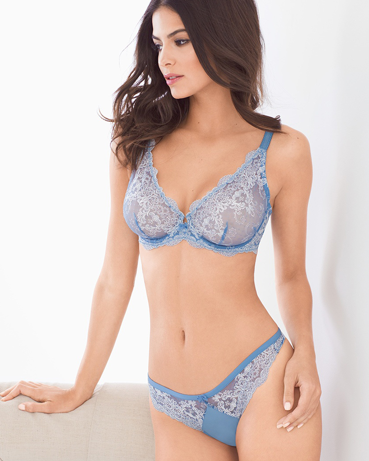 Spring trends: unlined lace bras