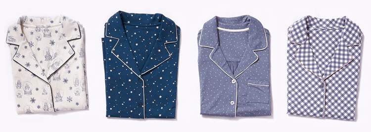 Enter to win one new pajama each day in festive prints.